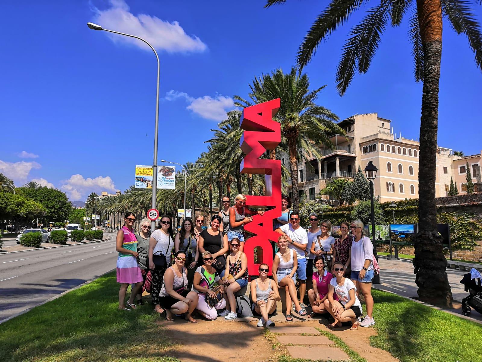 Ausflug nach Mallorca zum 20-zig jährigen Praxisjubiläum nach Mallorca